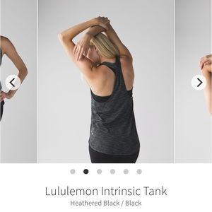 Lululemon intrinsic tank